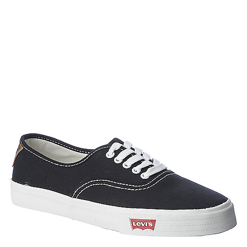 Levi's Mens Jordy 2.0 black casual lace up sneaker