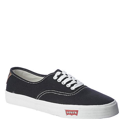 Levi s Mens Jordy 2.0 black casual lace up sneaker  6eb5ca26f863