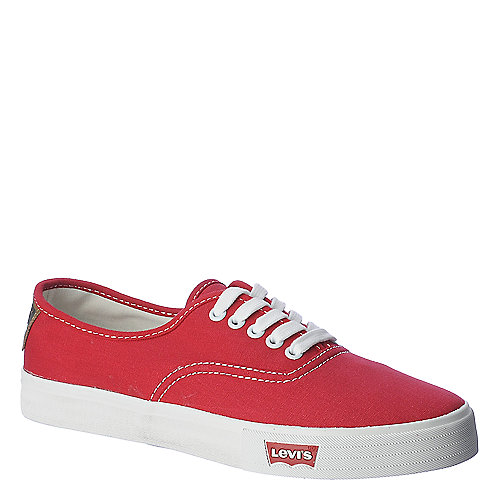 Levi's Jordy mens red casual lace up sneaker