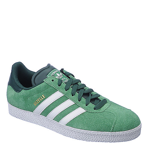 Adidas Gazelle II green athletic lifestyle sneaker