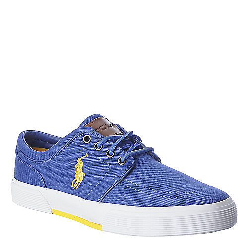 Polo Ralph Lauren Faxon Low blue casual lace up sneaker