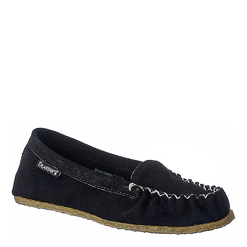 BearPaw Hanna black casual moccasin flat slip on shoe