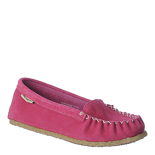 BearPaw Hanna pink casual moccasin flat slip on shoe