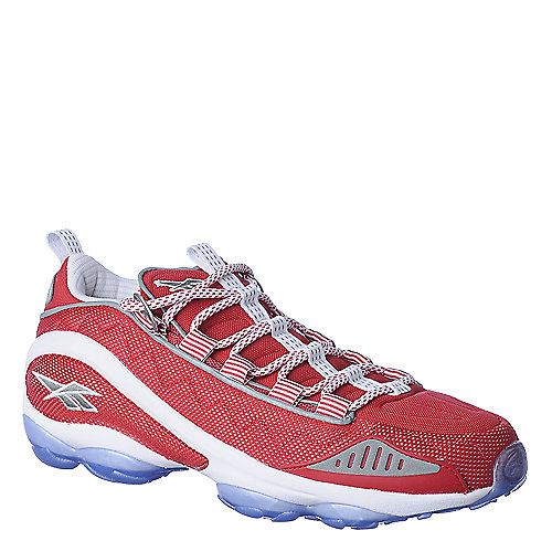 Reebok Mens DMX Run 10 red athletic running shoe