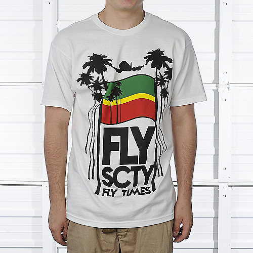Fly Society Fly Time Tee mens apparel