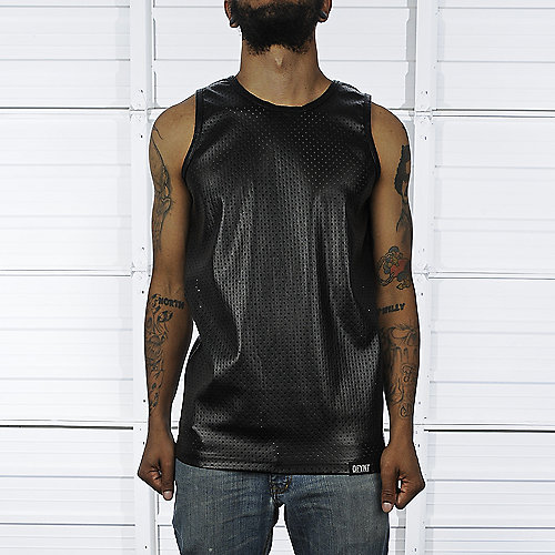 DFYNT Mens Leather Tank