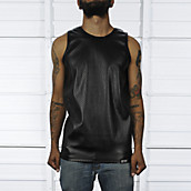Mens Leather Tank