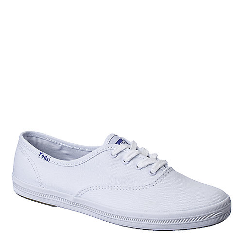 Keds Original Champion womens white flat casual sneaker