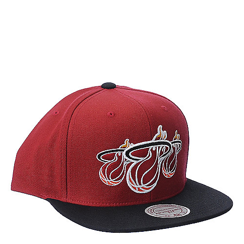 Mitchell and Ness accessories NBA Miami Heat snapback