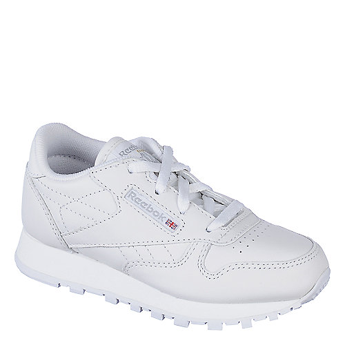 Reebok CL Leather White Toddler Shoe