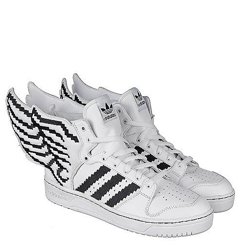 adidas js ali pixel bianco allacciarsi le scarpe casual uomini