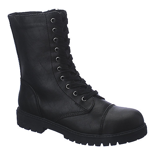 Madden Girl Rexxx low heel combat ankle boot