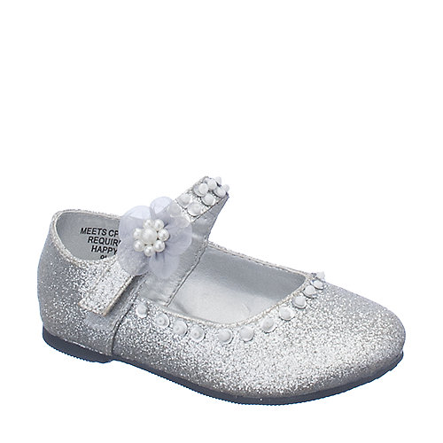 Happy Soda Veer 2 SQ silver kids shoes