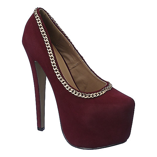 Glaze Nelly-14 womens platform high heel pump