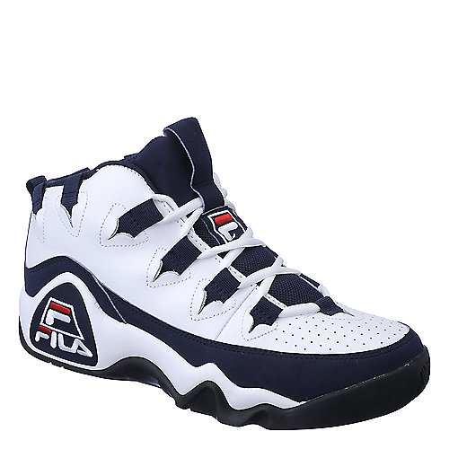 Fila 95 Grant Hill 1 mens white athletic basketball shoe