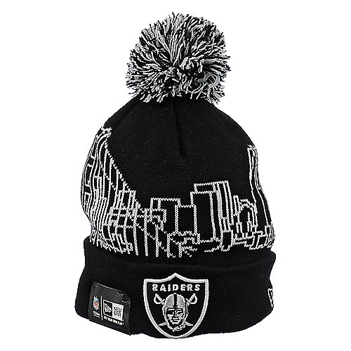 New Era Caps Oakland Raiders Knit Cap
