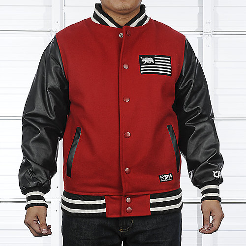 Gold Mind Mens Varsity Jacket