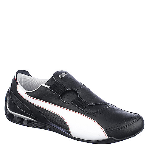 Puma Mens Hyper Drive black lifestyle athletic running shoe