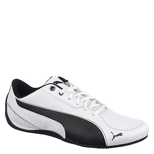 Puma Mens Drift Cat 5 white lifestyle athletic running shoe