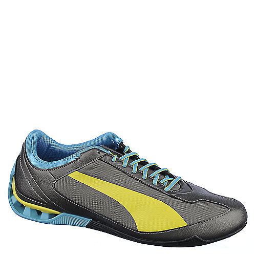 Puma Mens Power Race SL grey athletic running shoe