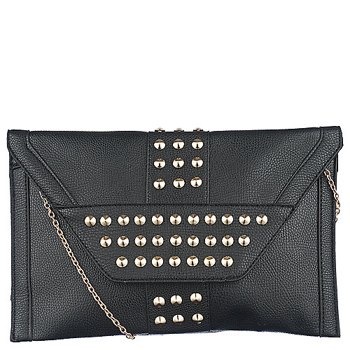 Elleven K Studded Envelope Clutch