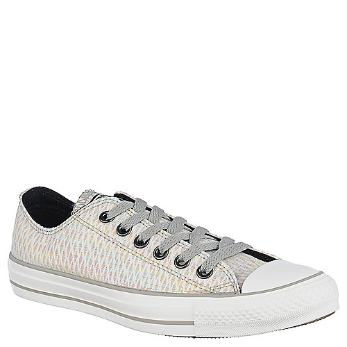 Converse Womens Chuck Taylor Ox white casual lace up sneakers