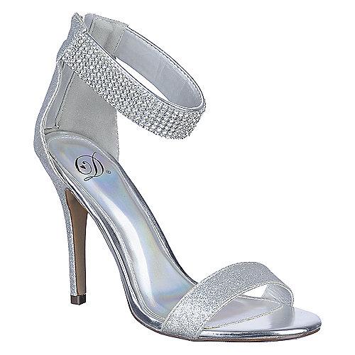 buy delicious womens tissue s glitter high heel evening