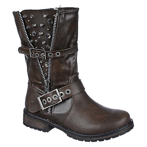 shiekh womens rocker 17 low heel ankle boots