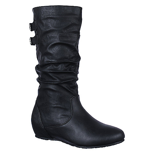 Wild Diva Women's Candies-135 Flat Boot