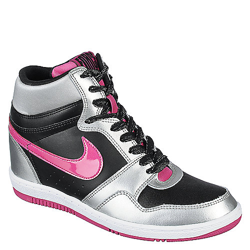 finest selection a045b e2c93 BlackSilverPink Womens Nike Force Sky High