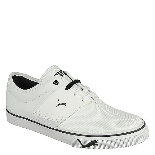 Puma Mens El Ace Core+ white lace up casual sneaker