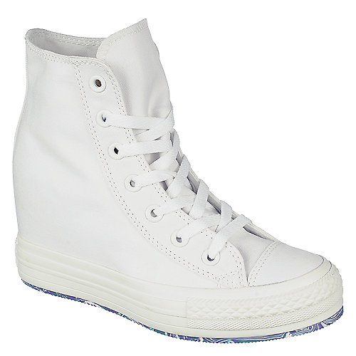 013570bced0 Converse Chuck Taylor Platform white lace up wedge sneaker