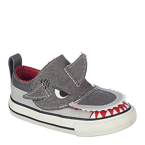 d41b73f0918e Converse Charcoal Grey Infant Chuck Taylor Creatures Ox