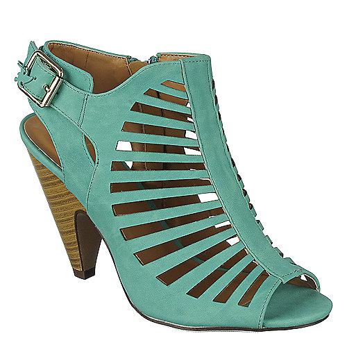 5ec28647960 Shiekh Shaky-S Women s Teal Low-Heel Shoes