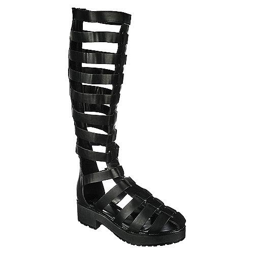 1d192eb1e201 Shiekh Teela-02S Women s Black Gladiator Sandals