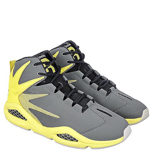 Reebok Blast Men s Grey Athletic Basketball Sneaker  129d476ce