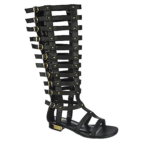 Black 134 Gladiator Sandal at Shiekh Shoes in Los Angeles, CA | Tuggl
