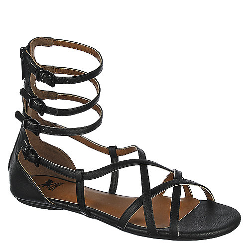 Black Women's Scota-H Strappy Sandal at Shiekh Shoes in Los Angeles, CA | Tuggl
