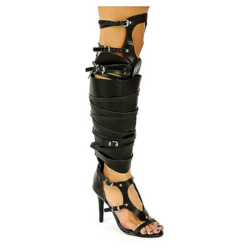Breckelles Gladiator Heel Sandals