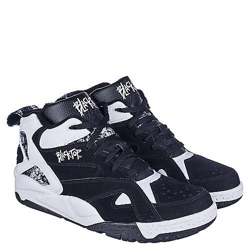 c979a9751122 Reebok Blacktop Boulevard Men s Black White Athletic Lifestyle ...