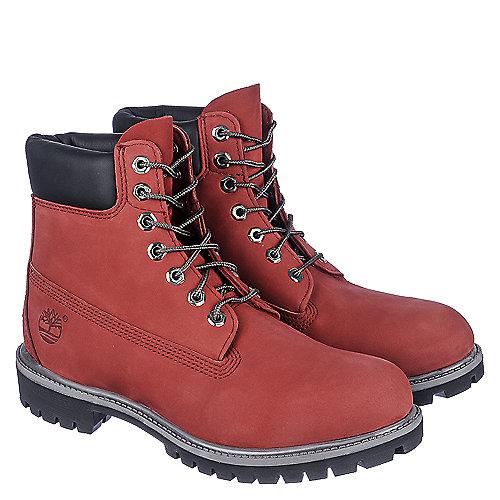 burgundy timberland boots