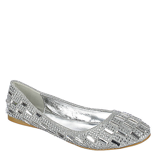 Shiekh JULIE-04 Womens Silver Flats | Shiekh Shoes