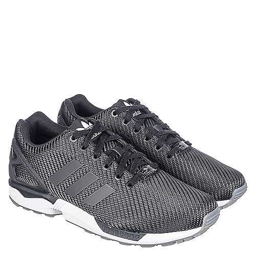 0bb502c8dcc8 Adidas ZX Flux Men s Black Athletic Running Shoes