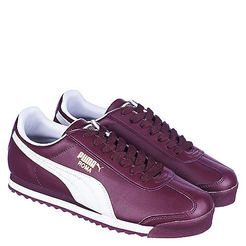 Puma Zinfandel White Men s Casual Lace-Up Sneaker Roma Basic fa9fca74590e