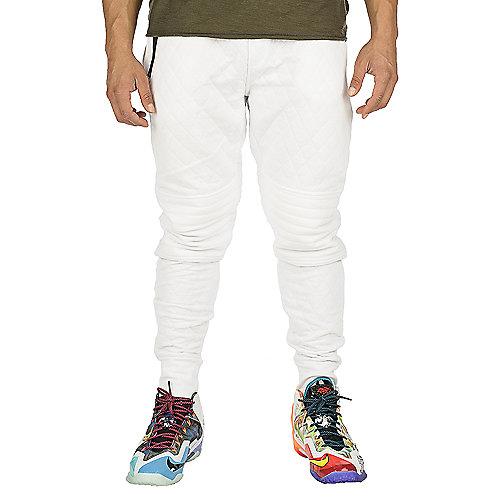 6e0774f0322dfb Jordan Craig Quilt Jogger Mens White Pants   Shiekh Shoes