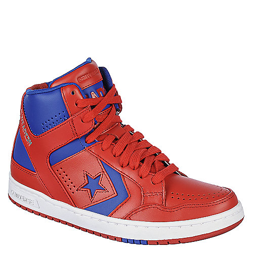 86f1967c9271 Converse Kids Weapon Mid Boys Red and Blue Athletic Shoe