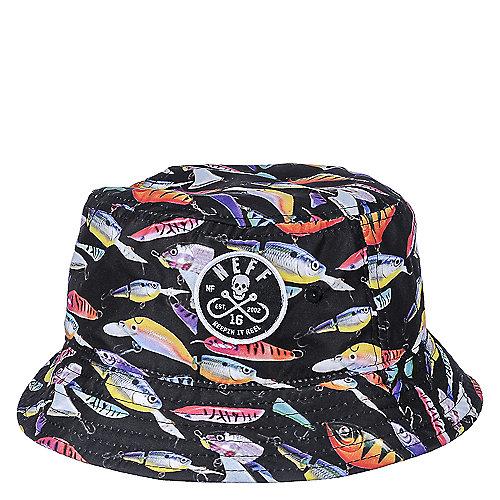 Neff Breyzher Bucket Keepin It Reel Bucket Hat  8a6a976b8dc