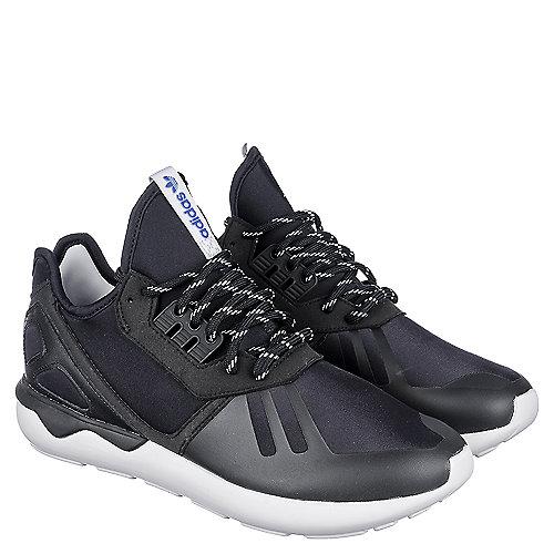 f20c86d7b2c6 adidas. Black White Men s Tubular Runner Athletic Running Sneaker