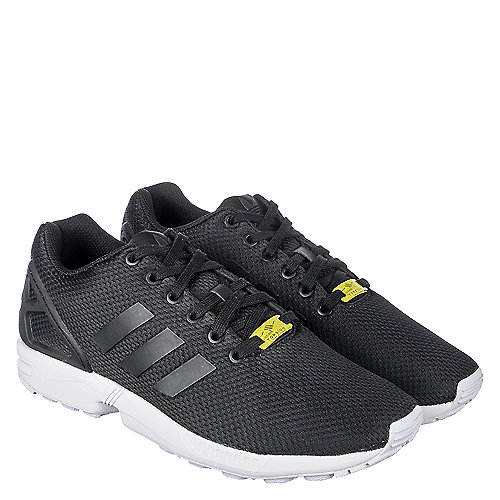 461fb1ee258b adidas. Black White Men s Athletic Running Sneaker ZX Flux