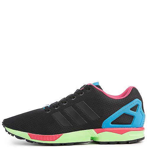 0b49594c533a adidas. CBLACK CBLACK  SGREEN Men s ZX Flux Sneakers